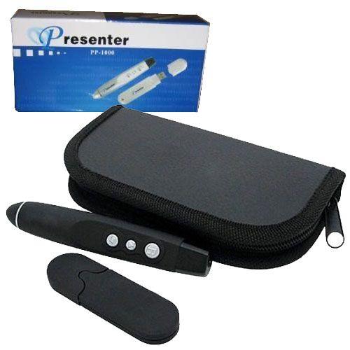 Caneta Apresentador Usb Wireless Com Laser Para Power Point
